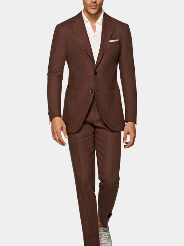Dark Brown Suit